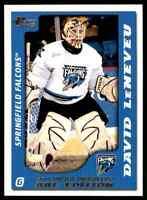 2003-04 Pacific AHL Prospects Gold David LeNeveu 314/925 #77
