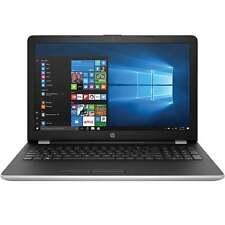 """HP 15-bs061st 15.6"""" HD laptop (N3710, 8GB, 500GB, Win 10, Sliver)"""