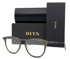 DITA FALSON DTX105 02 Matte Gray Black / Demo Lens  52mm Eyeglasses