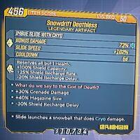 "GODROLL ""Deathless"" Legendary Artifact - Borderlands 3 (PS4)"