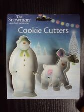 ANNIVERSARY HOUSE THE SNOWMAN & SNOWDOG COOKIE CUTTERS BNWT FREE UK POST