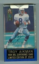 Troy Aikman Autographed 1989 Topps Rookie Card #383 Limited Edition 252/1989
