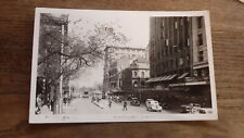 OLD AUSTRALIAN POSTCARD OF MELBOURNE VICTORIA, VIEW OF SWANTON STREET c1940