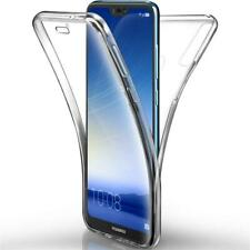 Huawei P20 P30 Pro / Lite / Mate Handy Hülle Full Case Cover Silikon Schutzhülle