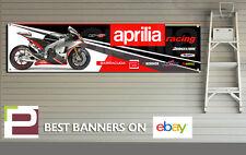 Aprilia Racing 2012 RS-GP Banner for Workshop, Garage, Man Cave, XL Size