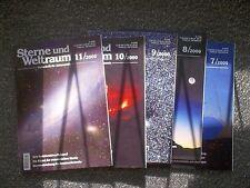 ca. 64 Zeitschriften, Sterne und Weltraum,