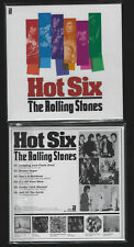 "ROLLING STONES ""Hot Six"" Promo Mini LP CD Cardsleeve"