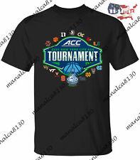Men's 2021 1ACC Basketball Tournament Group Black T-Shirt For Fan S-4XL