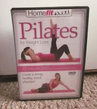 PILATES FOR WEIGHT LOSS Homefit DVD Elise Watts 2010 five workouts
