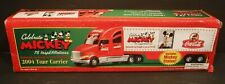 Coca Cola Mickey Mouse 2004 Tour Carrier Truck & Trailer 75th Aniv, Lights/Sound