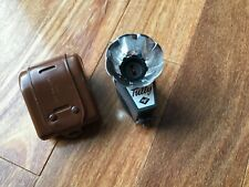 New listing Vintage Agfa Tully Camera Flash Unit w/ Brown Leather Case- Ag1 Ag1B Germany