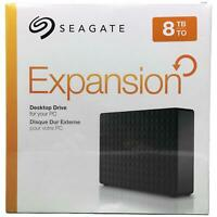 Seagate 8TB Expansion Desktop USB 3.0 External Hard Drive STEB800010