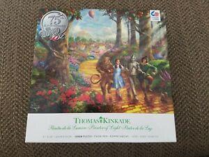 Thomas Kinkade 1000 pc jigsaw puzzle 75th Anniversary - The Wizard of Oz