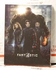NEW FANTASTIC 4 BLU-RAY FULL SLIP STEELBOOK! FAC# 33 EDITION 1! LIMITED 401!