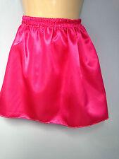 rose pink satin skirt tutu adult baby adult child sissy cd tv fancy dress 32-40
