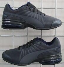 Men's Puma Cell Kilter Nubuck Sneakers, New Dark Gray Sport Walking Shoes Sz 7