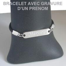 Bracelet fantaisie personnalisé avec prénom