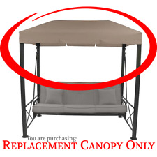 Target 3 Person Patio Swing Canopy High Grade 300D **REPLACEMENT CANOPY ONLY**