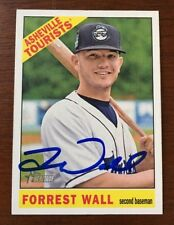 FORREST WALL 2015 TOPPS HERITAGE AUTOGRAPHED SIGNED AUTO BASEBALL CARD 76