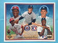 1992 Detroit Tigers 25th Anniversary 1968 World Series Upper Deck Sheet UD