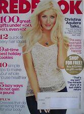 CHRISTINA AGUILERA  December 2010 REDBOOK Magazine
