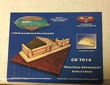 CUSTOM DIORAMICS CD 7014 - CHATEAU APPROACH DISPLAY BASE 1/35 RESIN & POLIFOAM