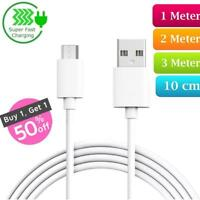 Heavy Duty Long Fast Charge Micro USB Data Power Phone Charger Cable 2m 3m Lead