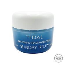 NEW Sunday Riley Tidal Brightening Enzyme Water Cream | 1.7oz Full Sz (MSRP $65)