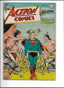 ACTION COMICS #200- 1ST PRINTING- LATE GOLDEN AGE 1955