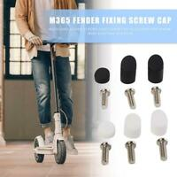 1 Set Fender Rubber Screw Plug Cover Case for Xiaomi M365 Electric Scooter