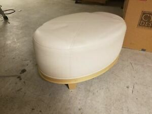Oval Ottoman From the Wynn Hotel and Casino Collection