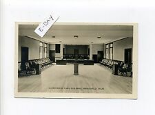 Springfield MA Mass RPPC real photo Auditorium Vasa Building, 35 Alden Street?