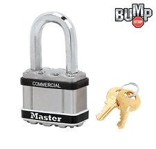 """Master Lock 2""""W MAGNUM Padlock,1-1/8""""L Shackle (1) Keyed Alike Locks M5NKASTSLF"""