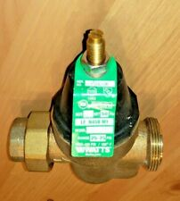 Watts 3/4 in. Brass MPT x FTP Pressure Reducing Valve handles up to 400 psi