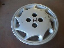 "1989 89 Honda Accord Hubcap Rim Wheel Cover Hub Cap 14"" LEFT OEM USED"