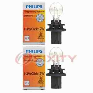 2 pc Philips Back Up Light Bulbs for GMC Acadia 2007-2012 Electrical ht