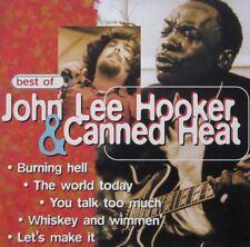 JOHN LEE HOOKER & CANNED HEAT -   BEST OF - CD