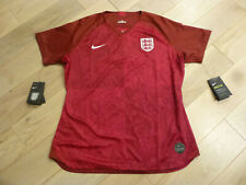 NWT Nike England 2019 Women World Cup Red Away Jersey (Slim Fit Women Size XL)