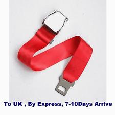 Airline Airplane Seat Belt buckle Fashion Belt Adjustable length RED COLOR
