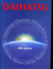 2000 Daihatsu Sales Brochure Rocky Applause Hijet Cuore