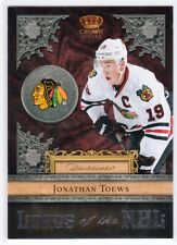 11-12 Crown Royale Lords of the NHL #16 Jonathan Toews