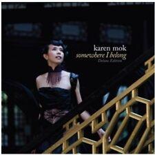KAREN MOK - SOMEWHERE I BELONG [BONUS DVD] NEW CD