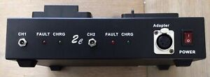 2 Channel V-Mount Charger - New
