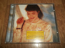 AN INTRODUCTION TO NANCI GRIFFTH - WINGS TO FLY AND A PLACE TO BE (CD ALBUM)