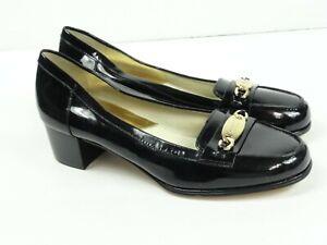 Michael Kors Women's  Black SV15E Block Heel Pumps Size 7