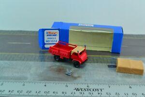 ROCO 1314 Unimog S 4x4 Fire Department Engine 1:87 HO Scale