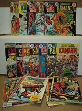 Kamandi, the Last Boy on Earth 21-59 SET Jack Kirby 1974-78 DC Comics (set 4815)