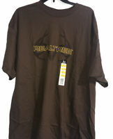 Delta REALTREE Mens S/S  Brown T Shirt Size XL 50-52