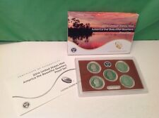 2014 U.S. Mint CLAD America the Beautiful Quarters Coin Proof Set, orig pkg