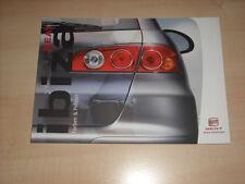 50349) Seat Ibiza Farben & Polster Prospekt 11/2003